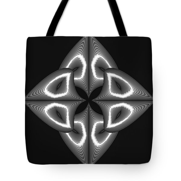 Glow In Darkness Tote Bag