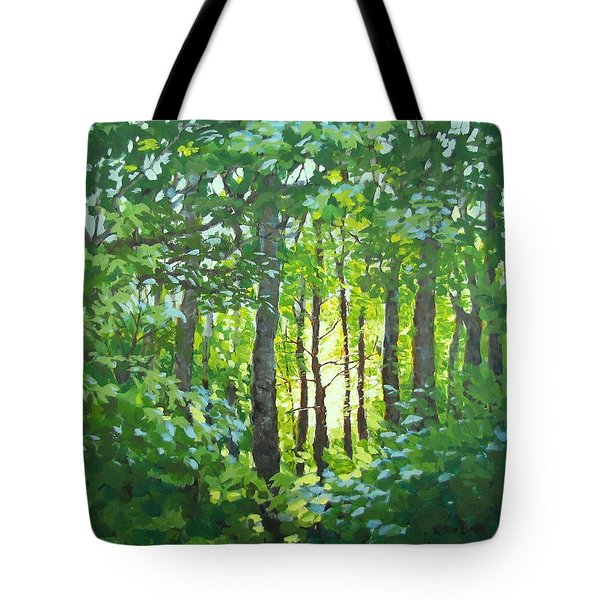 Glow Tote Bag by Karen Ilari