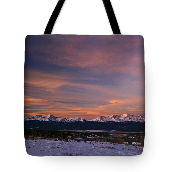 Glow Of Morning Tote Bag by Jeremy Rhoades