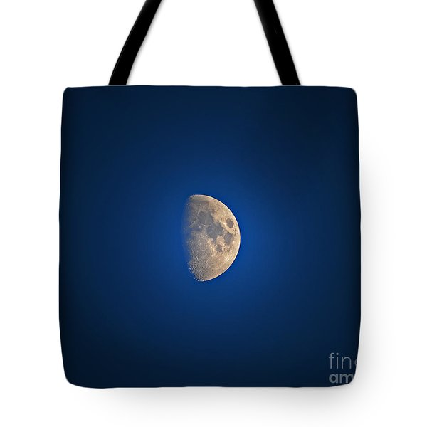Glowing Gibbous Tote Bag by Al Powell Photography USA
