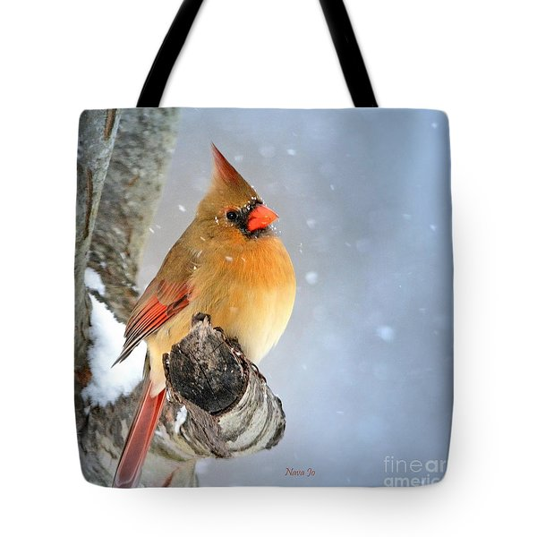Glowing In The Snow Tote Bag