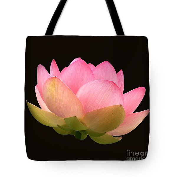 Glowing Lotus Square Frame Tote Bag