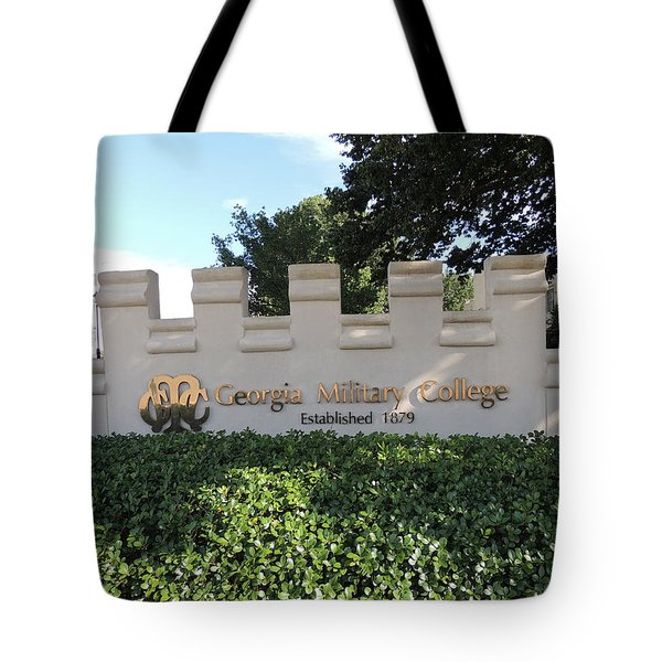 Tote Bag featuring the photograph Gmc Milledgeville by Aaron Martens