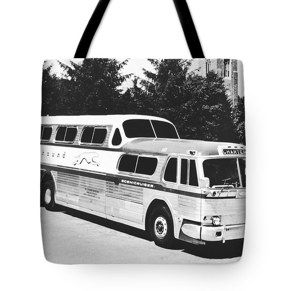 Gm's Latest Bus Line Tote Bag