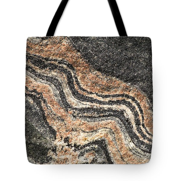 Gneiss Rock  Tote Bag