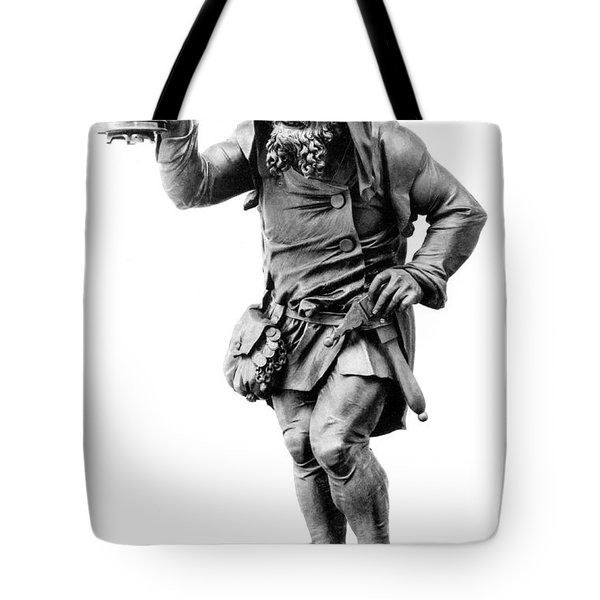 Gnome, Legendary Creature Tote Bag by Photo Researchers