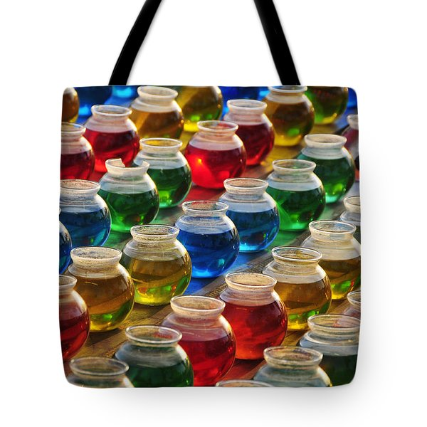 Go Fish 3 Tote Bag by Skip Hunt
