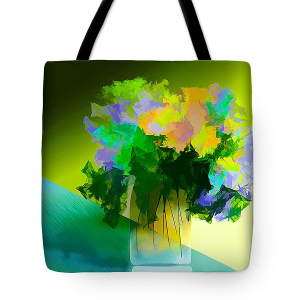Go Fleur Tote Bag by Frank Bright