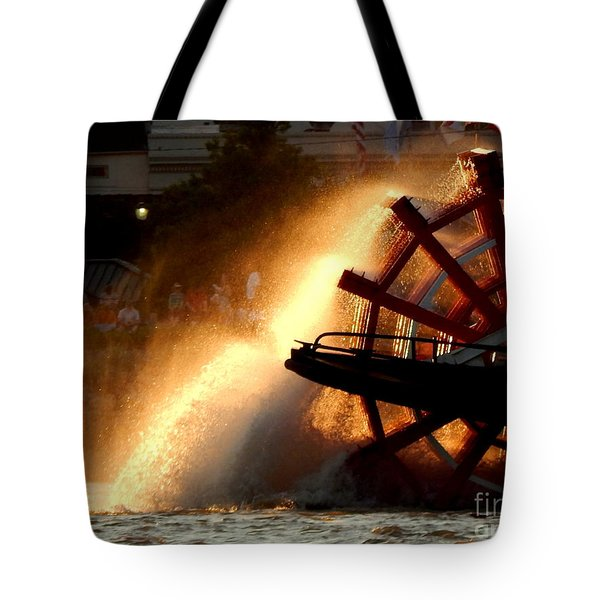 New Orleans Steamboat Natchez On The Mississippi River Tote Bag