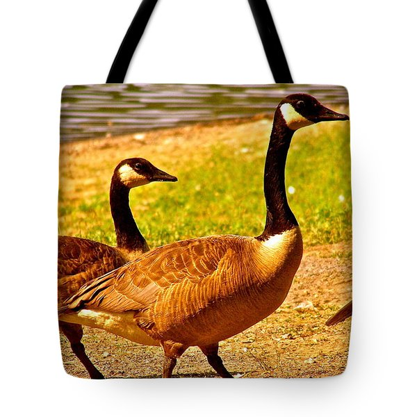 Go Geese Tote Bag
