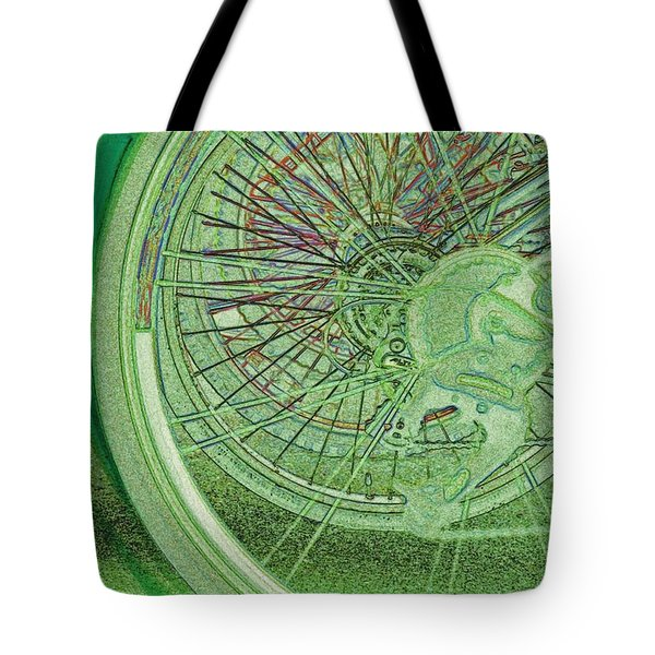 Go Green 1 By Jrr Tote Bag by First Star Art