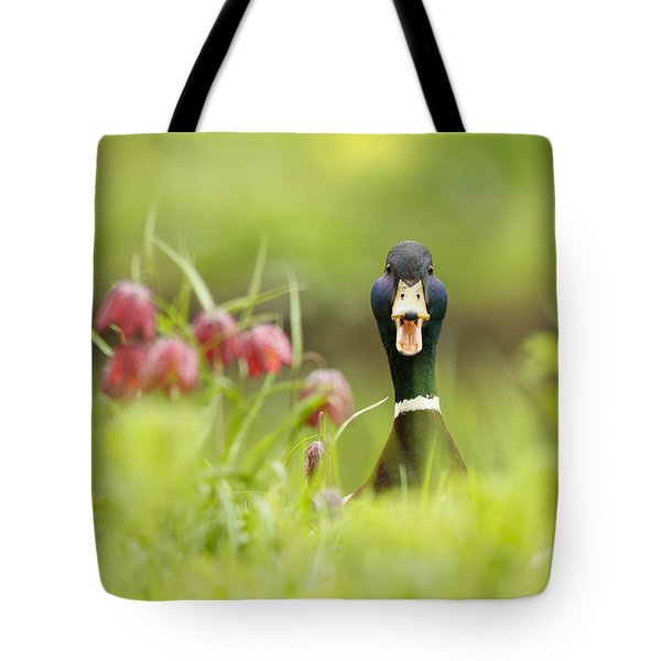 Go Home Duck You're Drunk Tote Bag