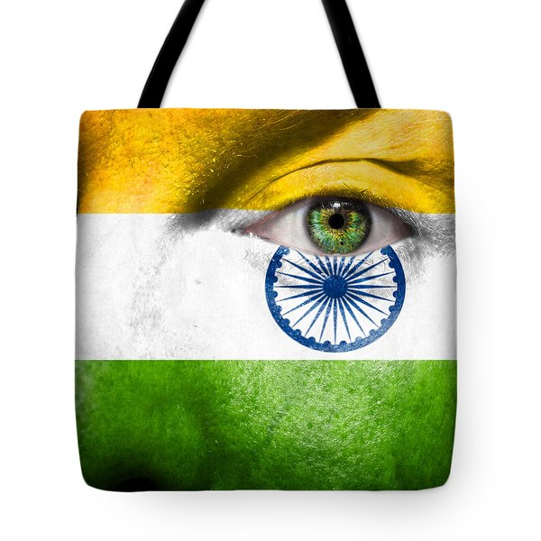 Go India Tote Bag by Semmick Photo
