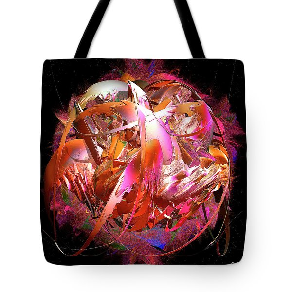 Go Inside And Play Tote Bag by Michael Durst