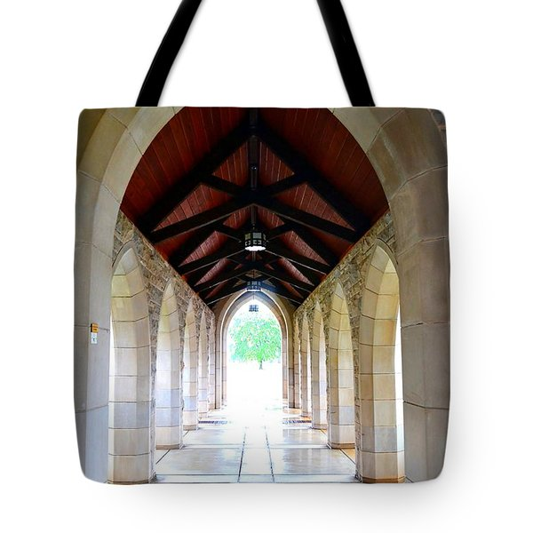 Tote Bag featuring the photograph Go Into The Light by Deena Stoddard
