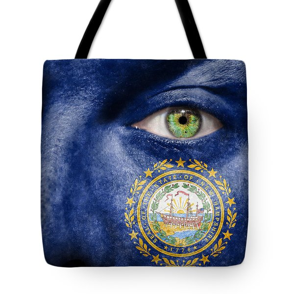 Go New Hampshire Tote Bag by Semmick Photo