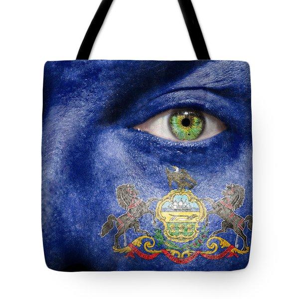 Go Pennsylvania Tote Bag by Semmick Photo
