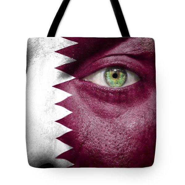 Go Qatar Tote Bag by Semmick Photo