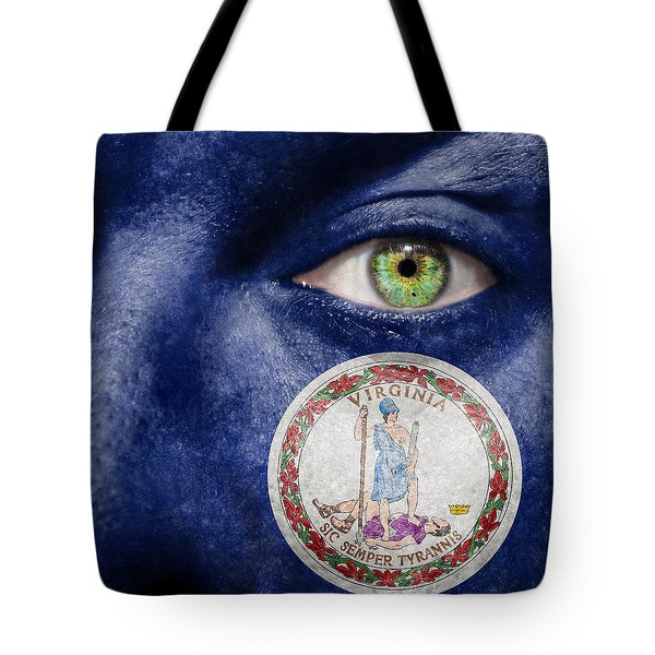 Go Virginia Tote Bag by Semmick Photo