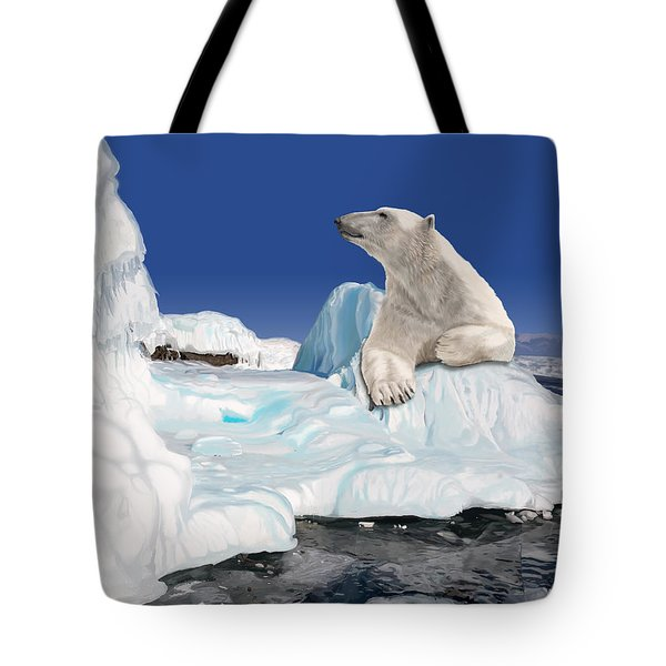 Go With The Floe Tote Bag