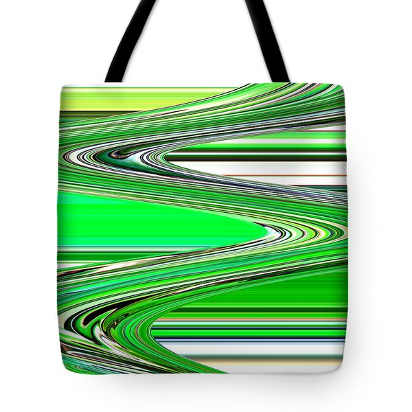 Go with the Flow Tote Bag by Carol Groenen