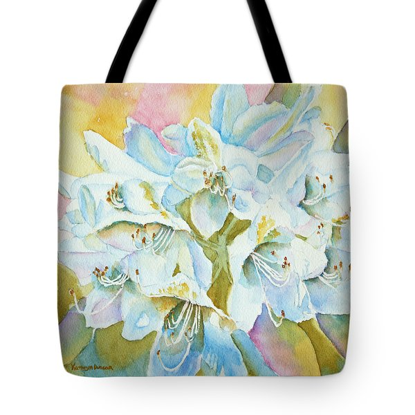 Go With The Glow Tote Bag by Kathryn Duncan