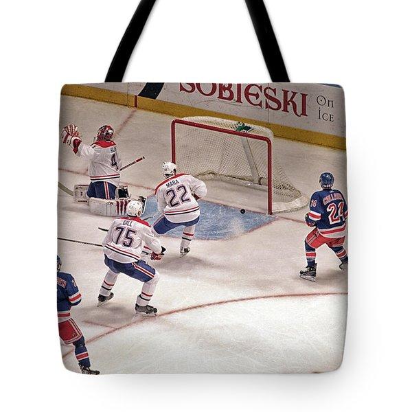 Goal Tote Bag by Karol Livote