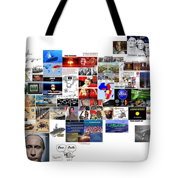Goal Post Putin Tote Bag