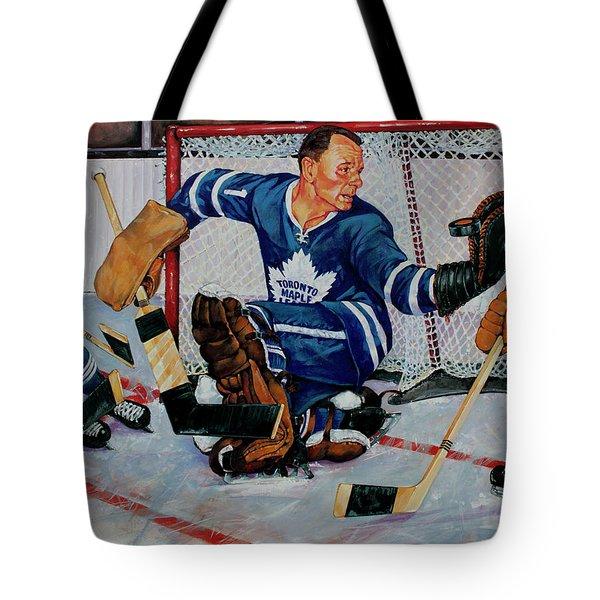 Goaltender Tote Bag