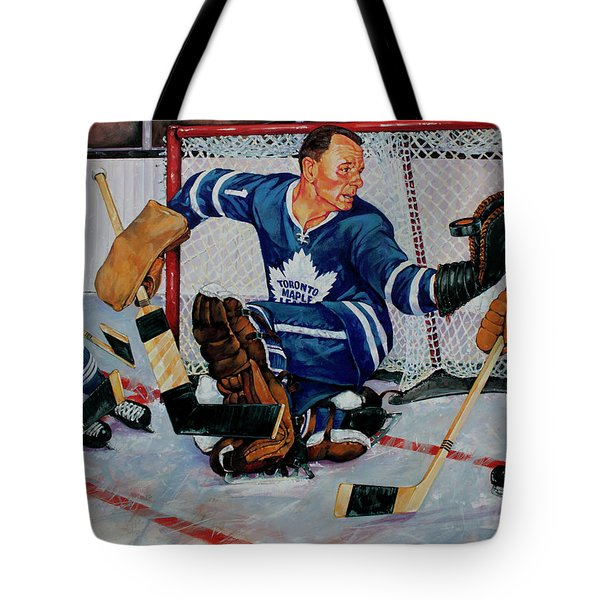 Goaltender Tote Bag