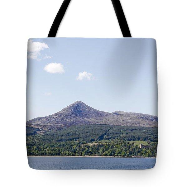 Goat Fell Isle Of Arran Scotland Tote Bag