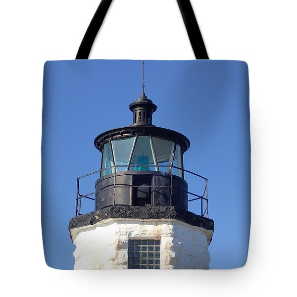 Goat Island Lighthouse Tote Bag