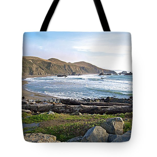 Goat Rock State Beach On The Pacific Ocean Near Outlet Of Russian River-ca  Tote Bag