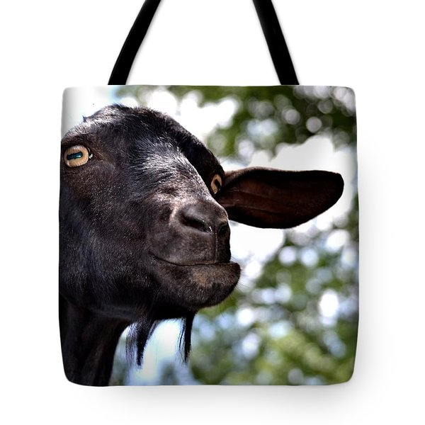 Goat Tote Bag by Tara Potts