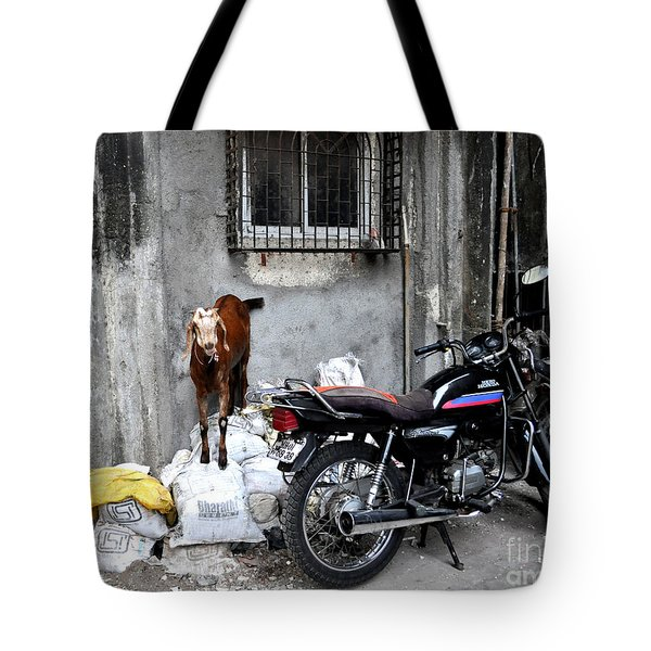 Goatercycle Tote Bag