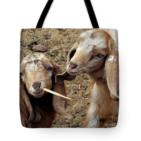 Goats #2 Tote Bag