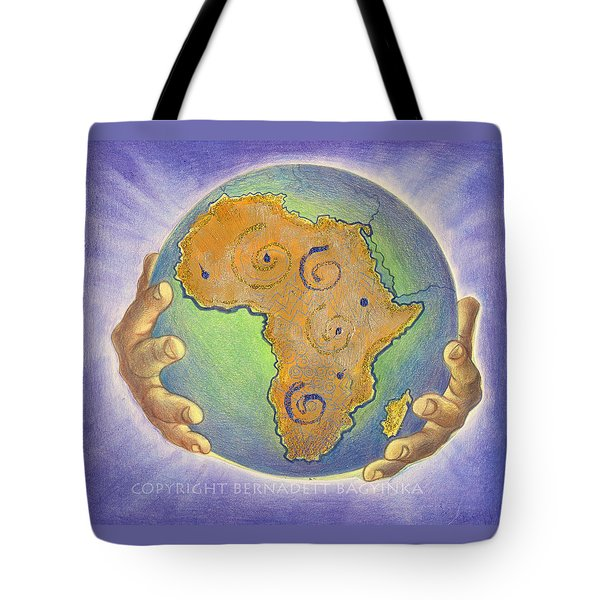 God Bless Africa Tote Bag