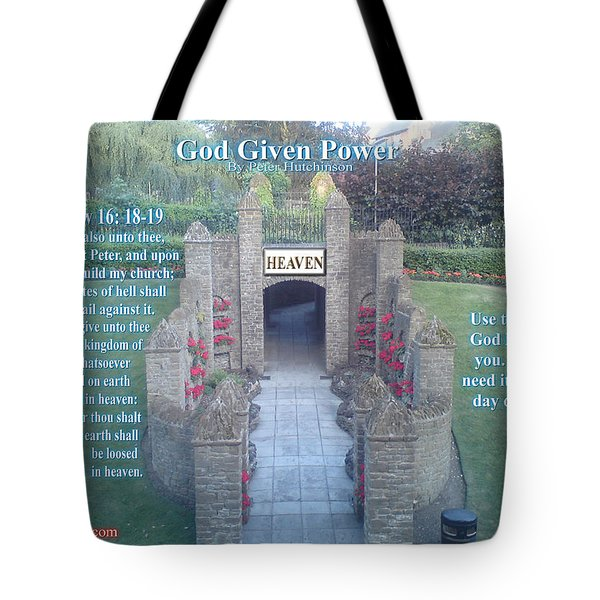God Given Power Tote Bag