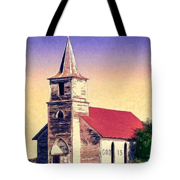 God Is Tote Bag by Dominic Piperata