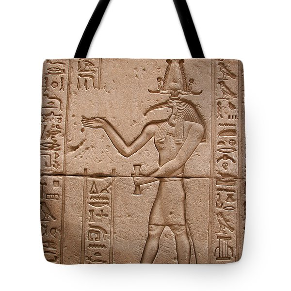 God Of Wisdom Relief Tote Bag by Stephen & Donna O'Meara