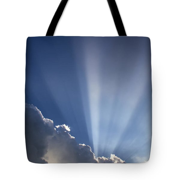 God Rays Tote Bag