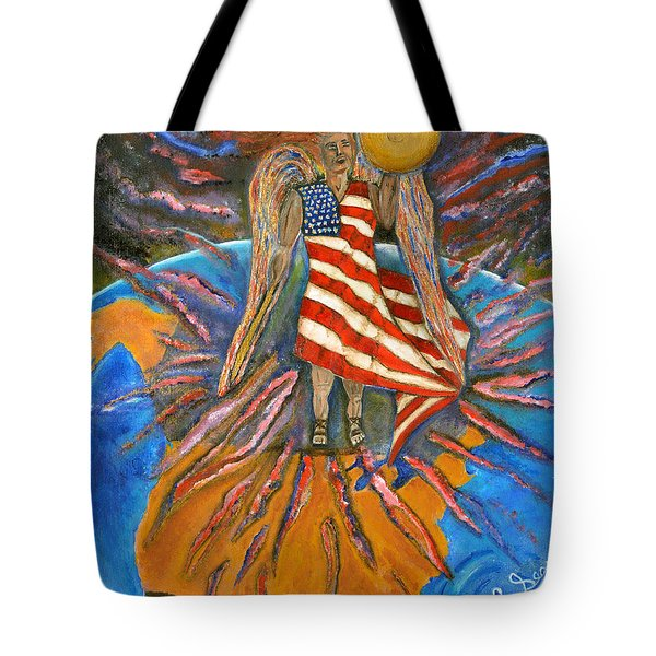 God Shed His Grace On Thee Tote Bag by Cassie Sears