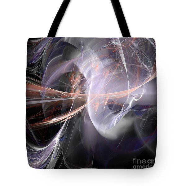 Tote Bag featuring the digital art God Speed by Margie Chapman