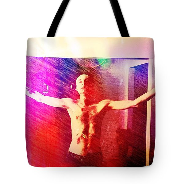 God Strong Tote Bag