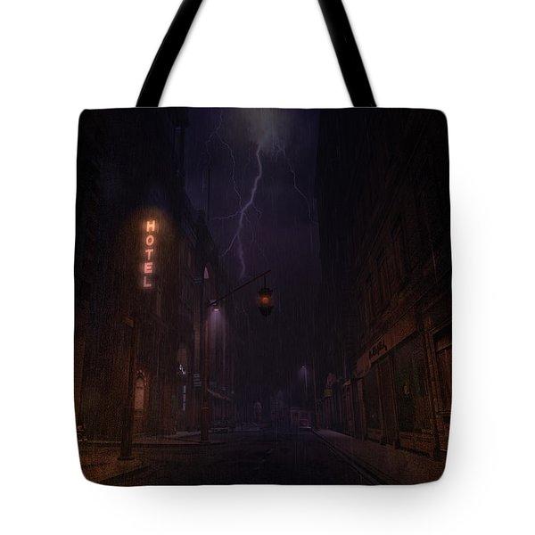 Tote Bag featuring the digital art God Sweep by Kylie Sabra