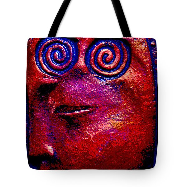Tote Bag featuring the photograph Goddess Dreaming by Susanne Still