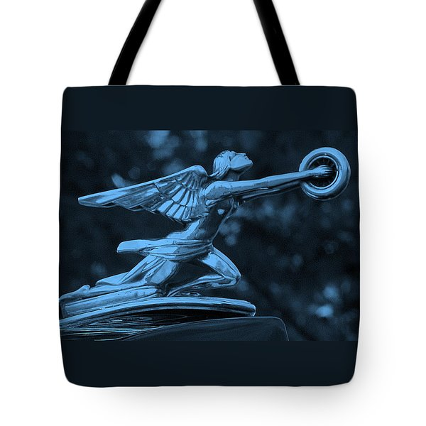 Tote Bag featuring the photograph Goddess Hood Ornament  by Patrice Zinck