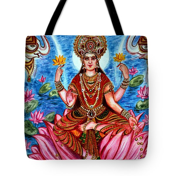 Goddess Lakshmi Tote Bag