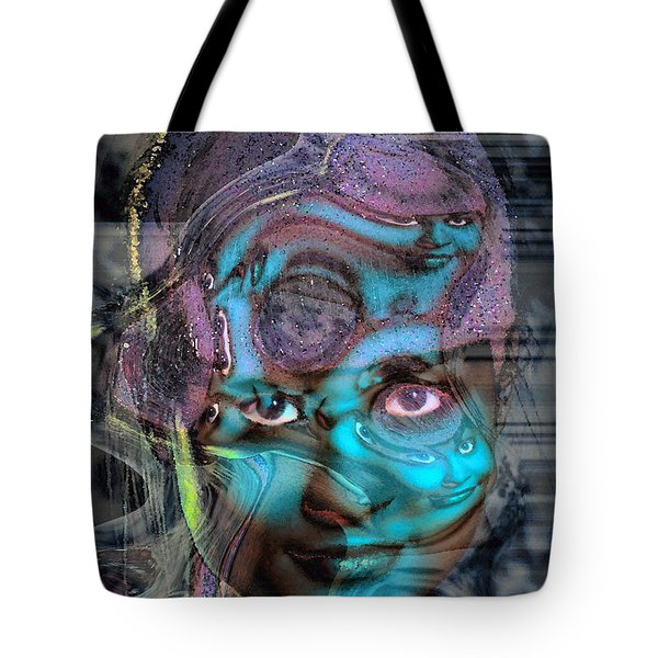 Tote Bag featuring the photograph Goddess Of Love And Confusion by Richard Thomas