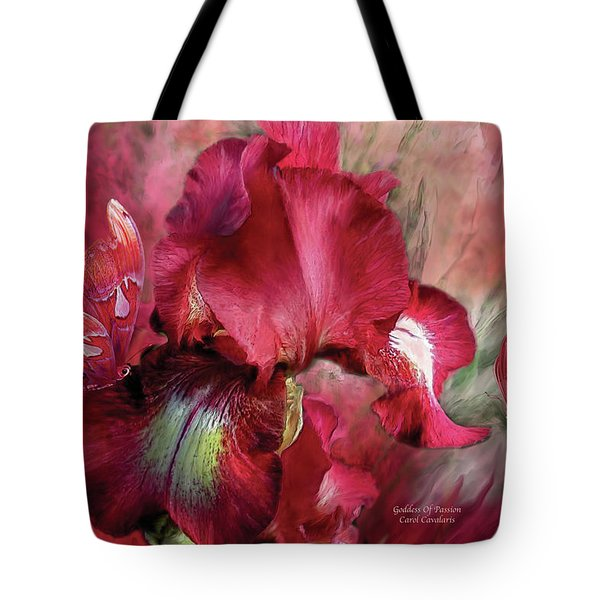 Goddess Of Passion Tote Bag
